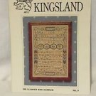 Cross Stitch Sampler Pattern THE LEARNED WIFE SAMPLER Kingsland Sampler No. 9