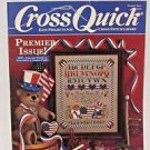 Cross Stitch Magazine Premier Issue December 1988 Bookworm bookmark