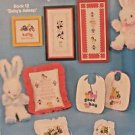 Counted Cross Stitch Patterns Booklet Baby Asleep  Count On Kappie Retired 1980