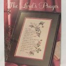 THE LORD'S PRAYER Counted Cross Stitch Pattern Leaflet 1990 Retired Leisure Arts