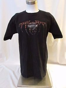 Harley Davidson Large Men's T Shirt Crystal River Fla. Manatee on the back