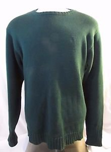 Ralph Lauren Classic Pullover Sweater Men's XL  Polo Crew Neck Sweater   Green