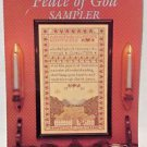 Cross Stitch Pattern Peace of God Sampler  Just CrossStitch Counted Retired