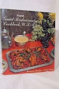 """""""CAMPBELL'S GREAT RESTAURANTS COOKBOOK U.S.A."""" COOKBOOK  Vintage"""