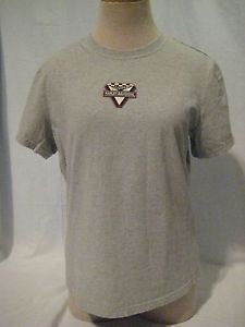 HARLEY DAVIDSON T Shirt Top Women's Large VICTORY HARLEY Patch Gray