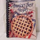 Cookbook America's Best Recipe Book Spiral Binding Hometown Collection 1995