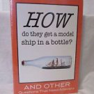 Q&A: How Do They Get a Model Ship in a Bottle Childern's Book