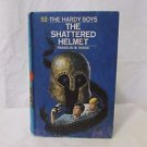 The Hardy Boys Mystery  #53 The Shattered Helmet  Hardcover 1973 Youth Book