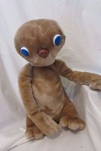 "Movie E.T. EXTRA TERRESTRIAL 16"" Plush STUFFED ANIMAL 1982 Universal Kamar"
