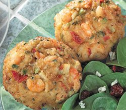 Premium Crab and Shrimp Cakes