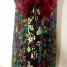 80's silk Geisha dress