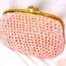 Vintage Koret 1962 pink purse