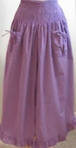 Celina brand Cotton One Size Purple Dance Pants