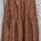 Sassy Rags ladies Small-Medium brown floral layering half slip-SALE