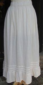 Classy Sassy Couture ladies beige cotton gauze layering half slip