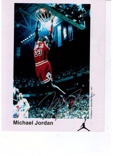 Michael Jordan Auto-Pen Signature