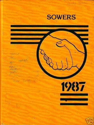 1987 Sowers Middle Yearbook Huntington Beach California
