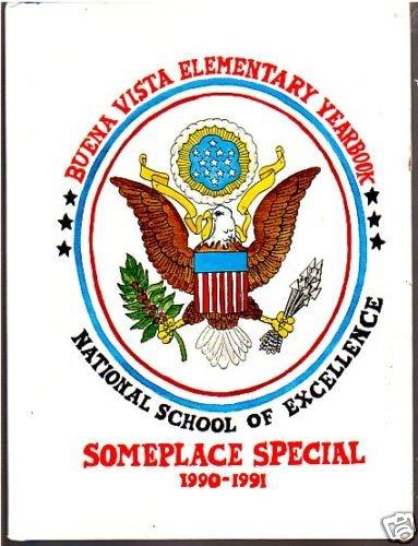 1991 Buena Vista Elementary School Yearbook Greer South