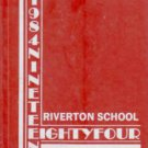 1984 Riverton School Wolves Yearbook Huntsville Alabama