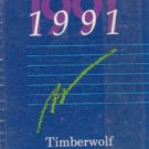 1991 Oden High School Timberwolf Yearbook Oden Arkansas Grades 1 ~ 12