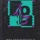 1993 Oden High School Timberwolf Yearbook Oden Arkansas grades 1 through 12