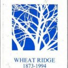 1994 Wheat Ridge Middle School Yearbook Wheat Ridge Colorado