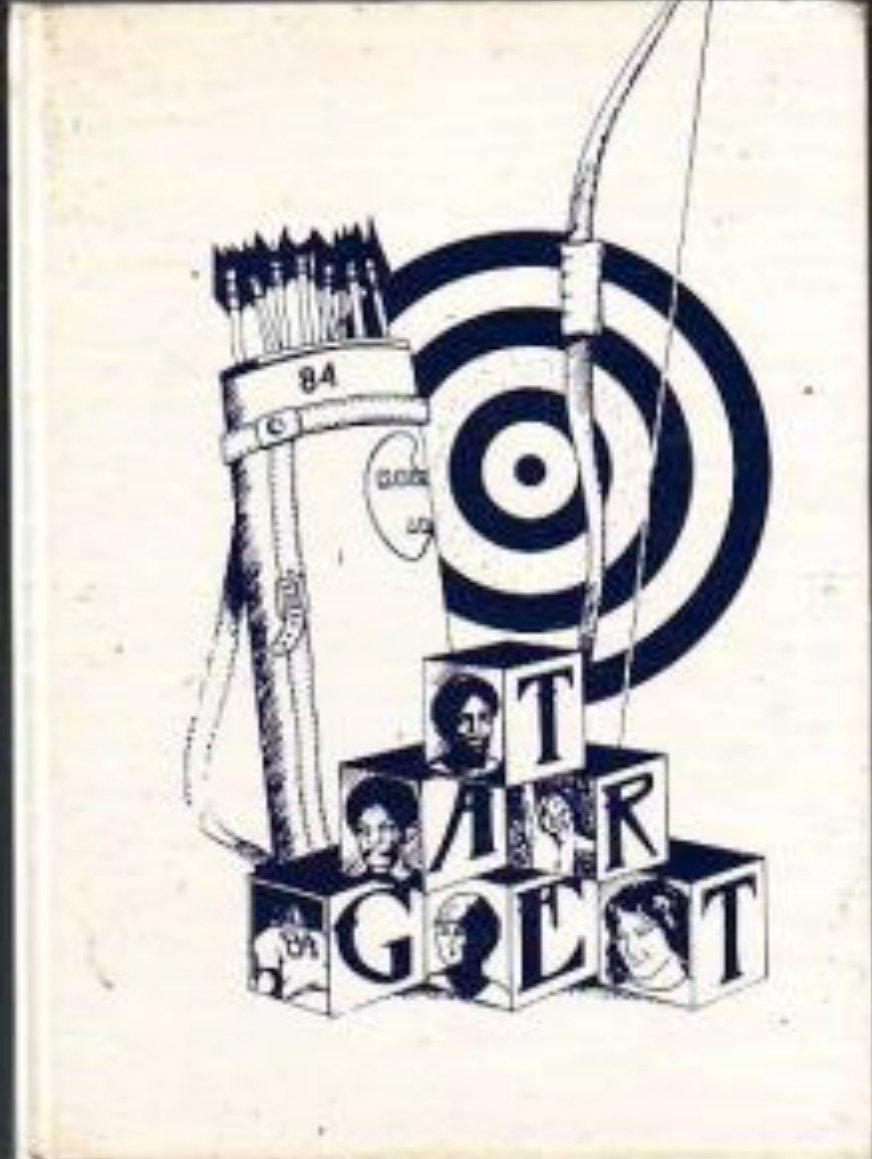 1984 Robbinswood Junior High School  Yearbook ~ Florida