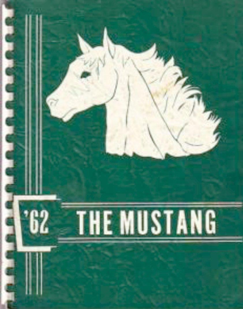 1962 Meadowbrook Junior High School Yearbook ~ Kansas
