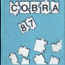 1987 MLK Martin Luther King Jr Junior High School Cobras Yearbook Beltsville Maryland