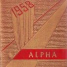 1958 State Teachers College The Alpha Yearbook Bridgewater Massachusetts