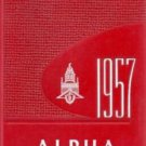 1957 State Teachers College The Alpha Yearbook Bridgewater Massachusetts