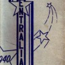 1940 Central High School Yearbook Kansas City Missouri