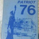 1976 Palmer Patriot Junior Jr Middle High School Yearbook Independence Missouri