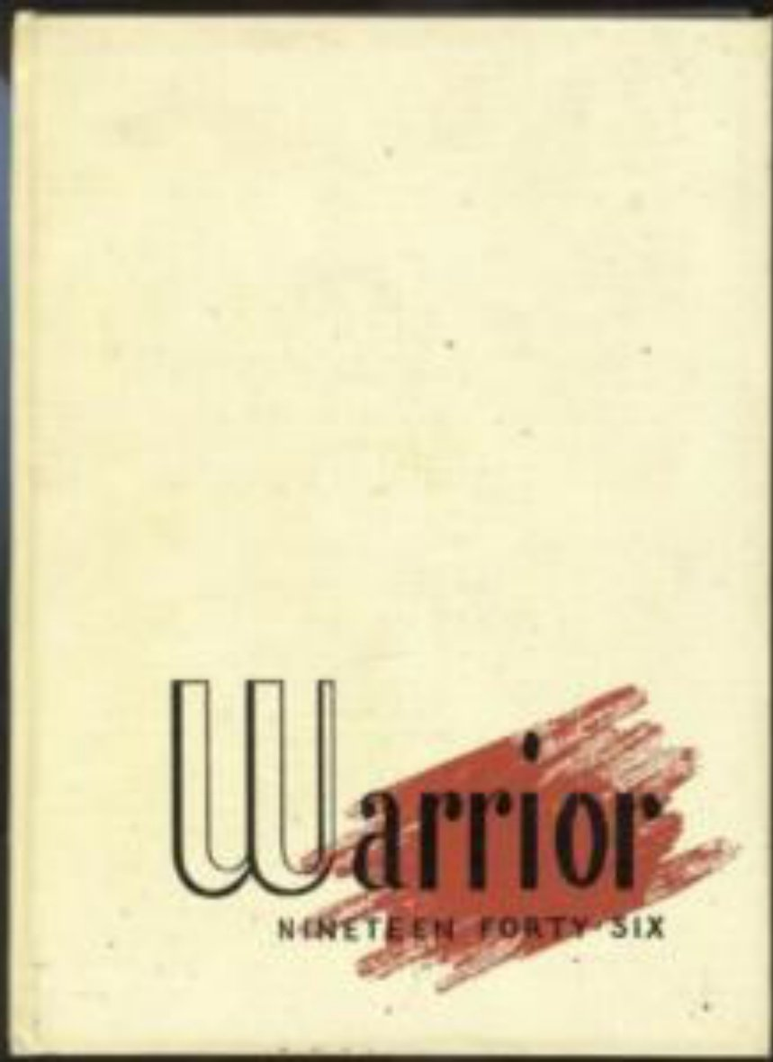 1946 Midland College Warrior Yearbook  Fremont Nebraska