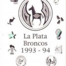 1994 La Plata Middle School Broncos Yearbook Silver City New Mexico