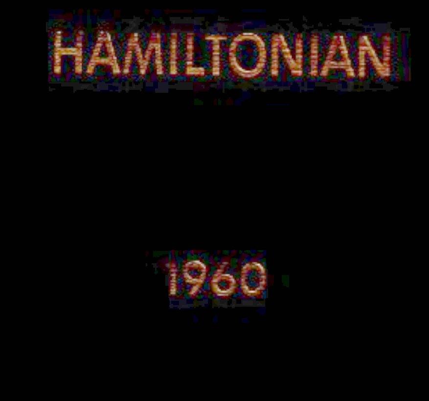 1960 Hamilton College Yearbook Clinton New York