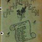 1936 Roscoe High School Orchid Green Publication Roscoe South Dakota