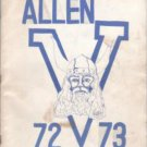 1973 Allen Jr Junior High School Yearbook Greensboro North Carolina