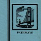 1985 Macon Middle School Pathways Yearbook Franklin North Carolina