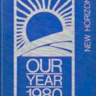 1980 Harris School K ~ 8 New Horizons Yearbook Harris North Carolina