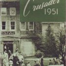 1951 Crusader Northwest Christian Yearbook Eugene Oregon