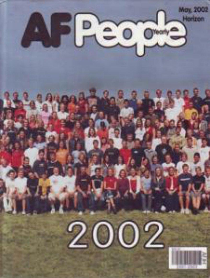 2002 American Fork Junior High School Yearbook Utah