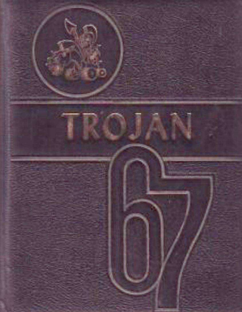 1967 Divide School Trojan Yearbook ~ Nolan Texas