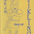 1969 North Kitsap Junior Middle High School Viking Yearbook Washington