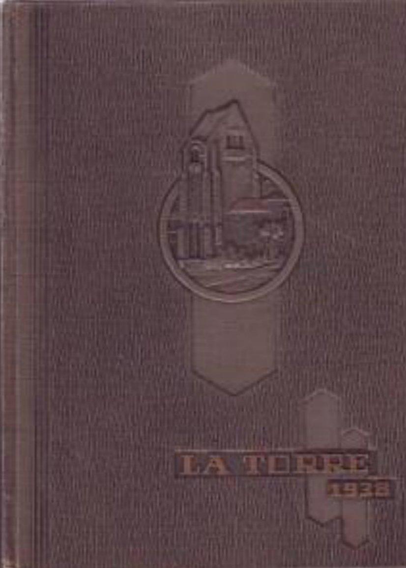 1938 LA TORRE ~~ SAN JOSE STATE COLLEGE YEARBOOK