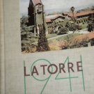 1941 LA TORRE ~ SAN JOSE STATE COLLEGE YEARBOOK CALIFORNIA