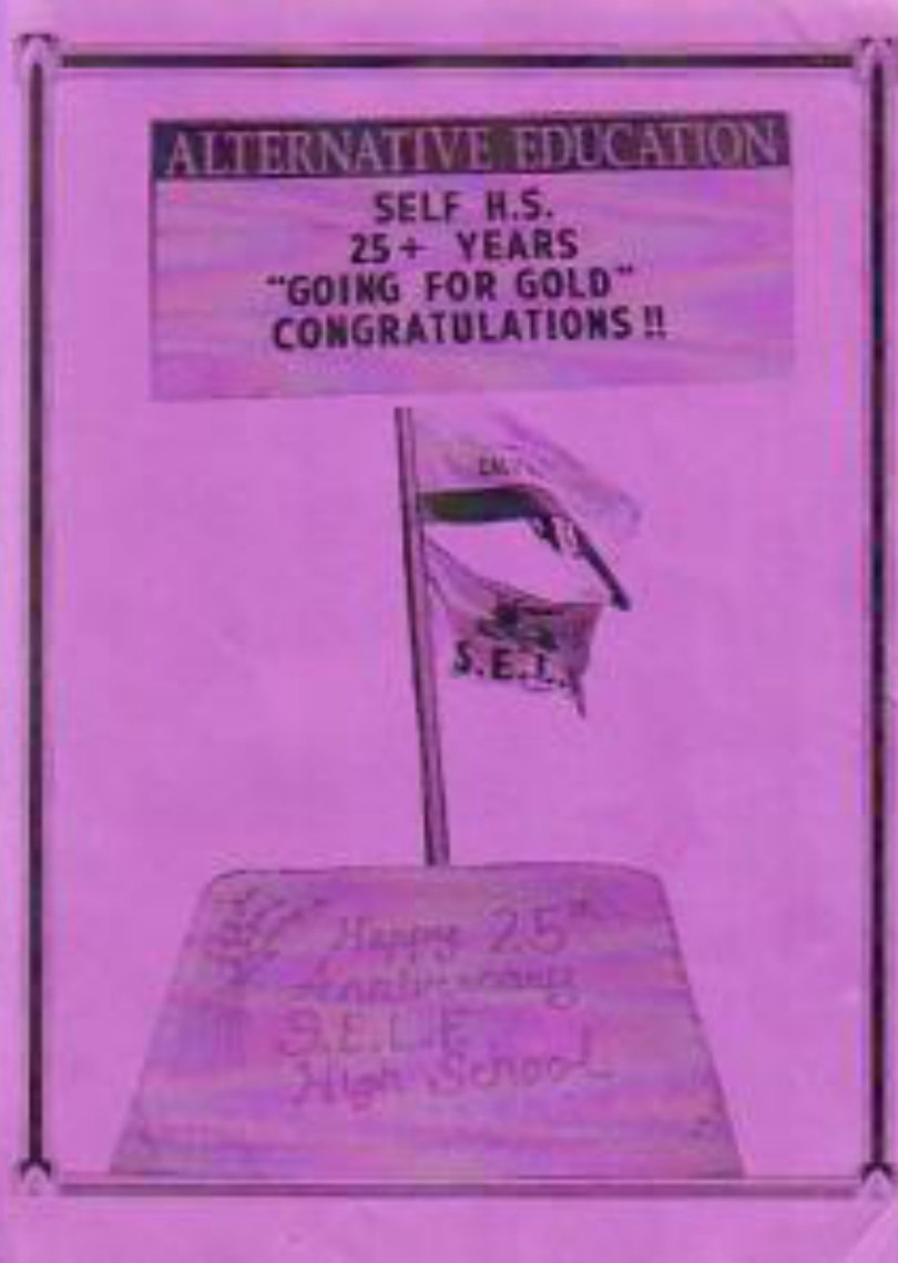 2000 S.E.L.F. SELF High School Yearbook Irvine Calif