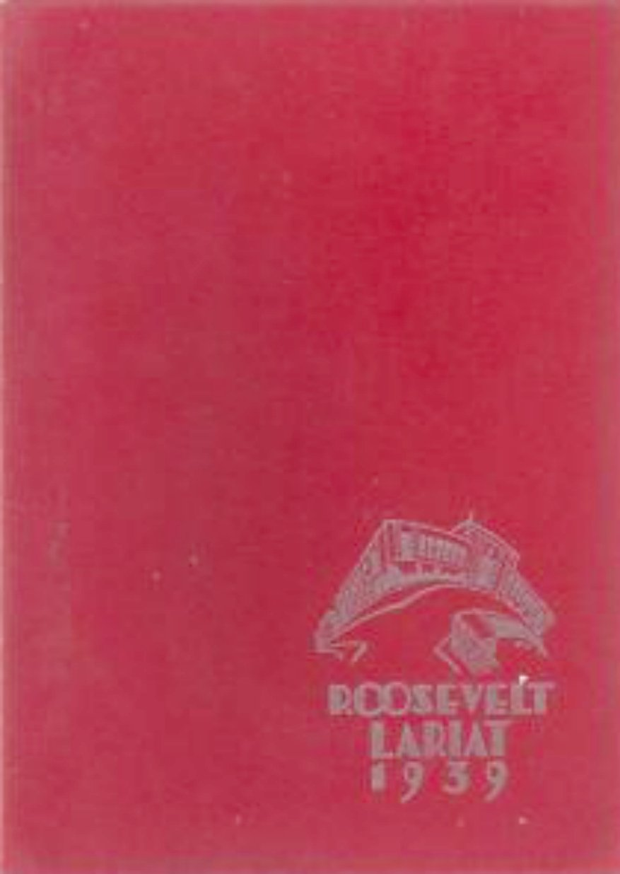 1939 June Roosevelt High School Yearbook Oakland Calif