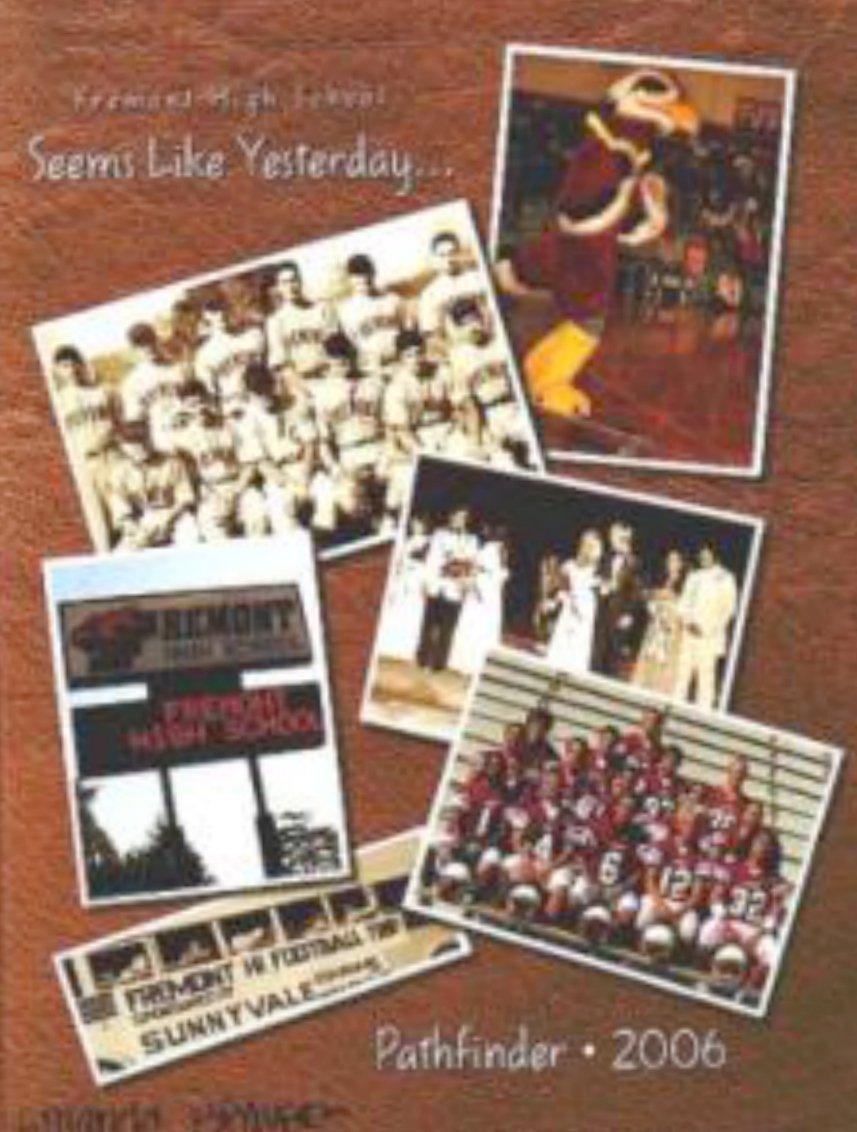 2006 Fremont High School Yearbook Sunnyvale California