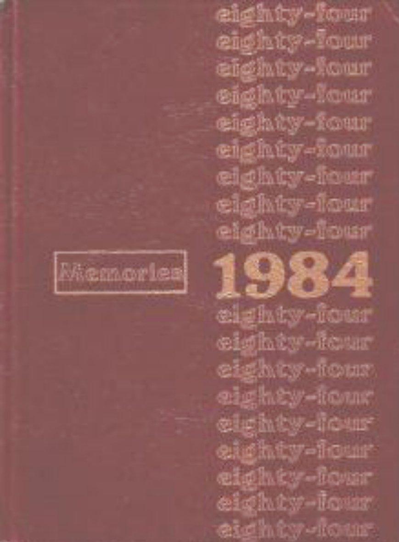 1984 Rhodes Junior High School Yearbook ~ Mesa Arizona